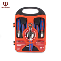 Petpig Car Repair Set Wrenches 7Pcs Key Spanners Woodworking Machinery Wrench Sets Hand Tools Wrenches Keys Set