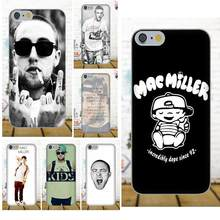 Oedmeb For Apple iPhone 4 4S 5 5C 5S SE 6 6S 7 8 Plus X For LG G3 G4 G5 G6 K4 K7 K8 K10 V10 V20 Soft Phone Cases Mac Miller(China)