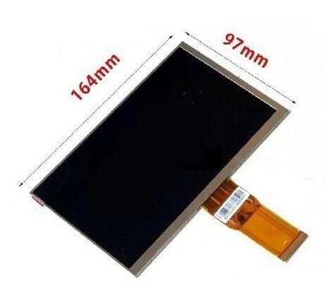 New 7 inch TABLET Digma optima 7.4 3g TT7024MG LCD Display Matrix 163*97mm 50pin 1026*600 LCD Display Screen Panel FreeShipping digma optima 1507 3g