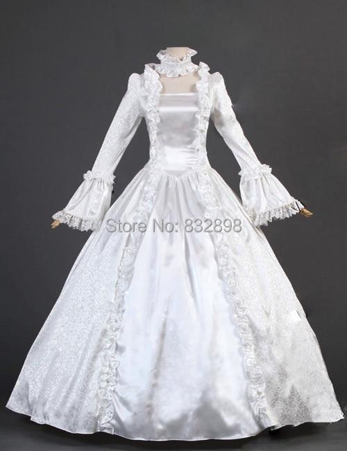 Viktorijanska gotička kozmetička haljina od satenske princeze - Ženska odjeća - Foto 3