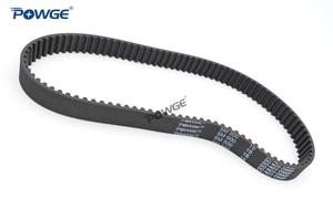 Image 2 - POWGE Arc HTD 5M Timing belt C=490/495/500/505 width 15/20/25mm Teeth 98 99 100 101 HTD5M synchronous Belt 490 5M 495 5M 500 5M