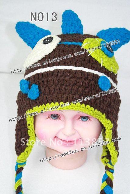 Venta al por mayor 100% algodón monster patrón del sombrero del ...
