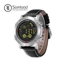 Samload Esporte Relógio Inteligente Monitor de Som da Campainha de Alarme Esporte Relógios 1808 Pulseiras de Longa Espera Para O Android e IOS Smartphones