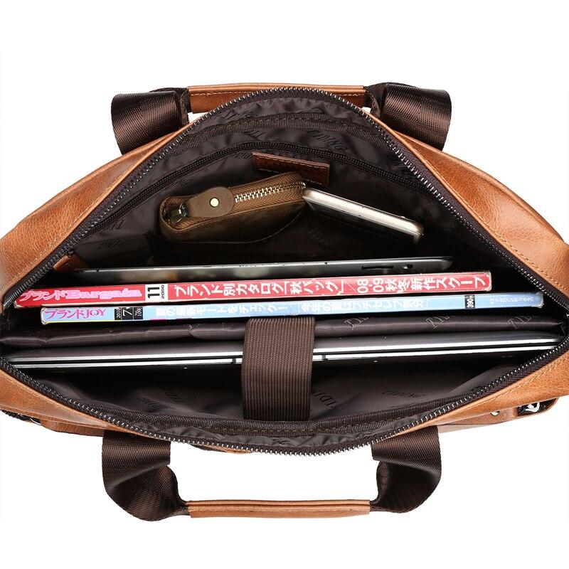 TIDING Hombres de moda maletín bolsos de diseño de alta calidad de - Bolsos - foto 3