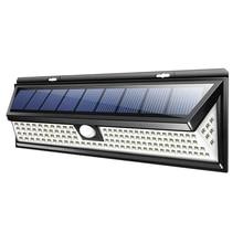 118 Светодиодная лампа на солнечной батарее, для улицы, для сада, двора, водонепроницаемый, Pir датчик движения, светильник, светильник безопасности s для передней двери, для заднего двора, гаража