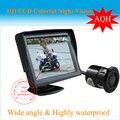 Envío gratis el coche marcha atrás Kit - cámara de visión trasera 4.3 pulgadas ' LCD monitor del coche, ayuda al aparcamiento kits sin hilos del Rearview