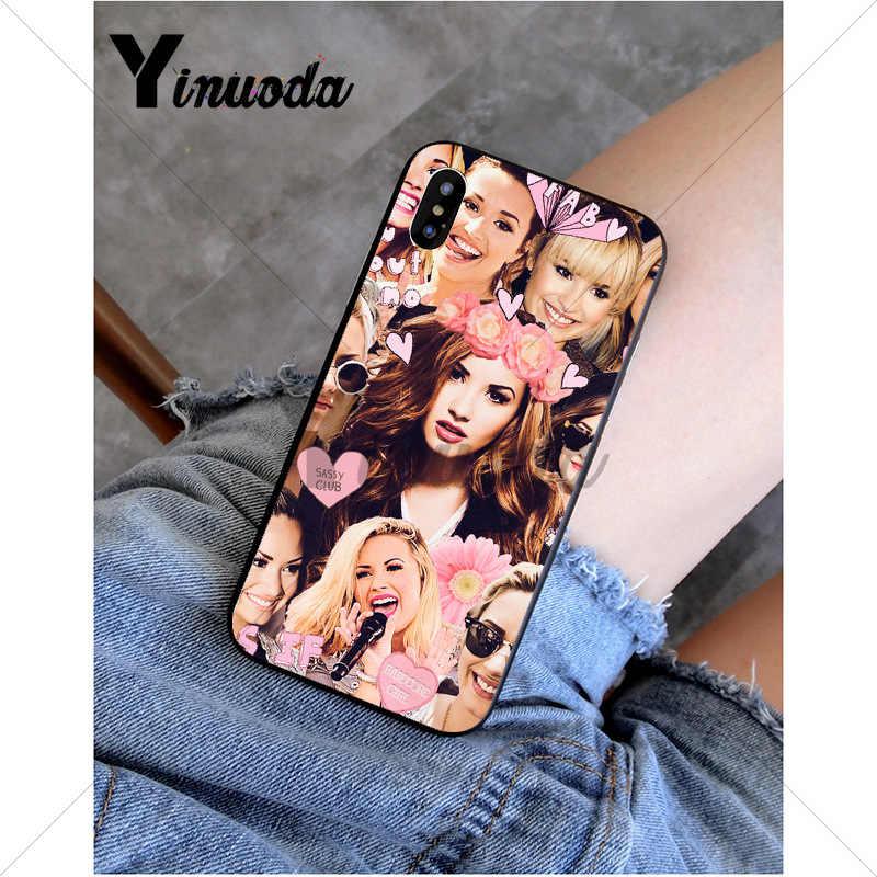 Yinuoda Demi Lovato клиент высокого качества чехол для телефона Apple iPhone 8 7 6 6 S Plus X XS MAX 5 5S SE XR мобильный чехол