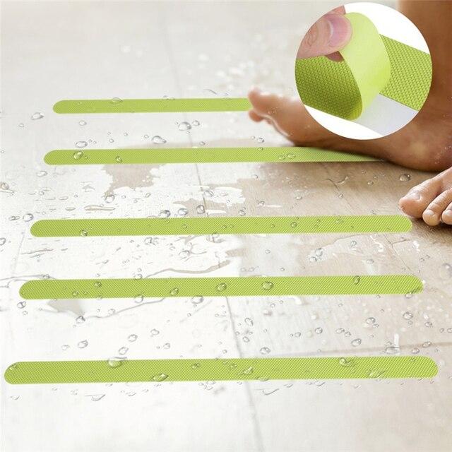 12 pz Bagno Vasca Da Bagno Antiscivolo Nastro No Skid di Sicurezza Pavimento Adesivo Sticker
