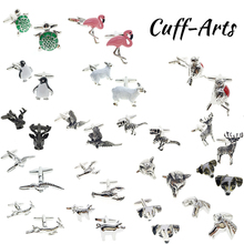 Cuffarts Cufflinks for Mens High Quality Animals Novelty Luxury Shirt