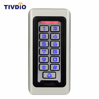Keypad RFID Access Control System Proximity Card Standalone 2000 Users Door Access Control Waterproof Metal Case F9501D