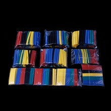 520 Pcs Electrical Insulation Heat Shrink Tube Tubing Wrap Wire Assorted Kit 60mm Cable Sleeves wavgat 8 size 2mm 12mm heatshrink heat shrink tube black insulation sleeves wire wrap cable kit
