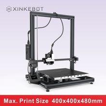 Металл FDM 3D Принтер с СВЕТОДИОДНЫЙ Экран Печати Размер 400*400*480 мм Xinkebot ORCA2 Cygnus