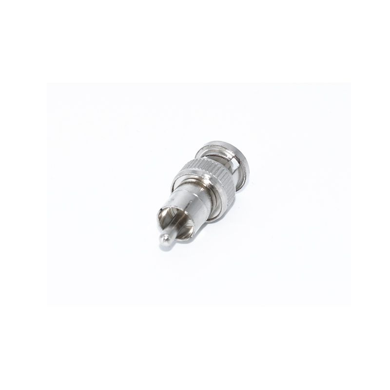 Hot Sale BNC Male revolution RCA male Connectors Cable Adapters Coaxial Cable in Transmission Cables from Security Protection
