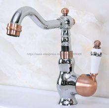 Polished Chrome Bathroom Basin Faucet Single Handle Swivel Spout Vessel Sink Mixer Tap Bnf912 large spring single handle kitchen faucet dual swivel spout vessel mixer tap new