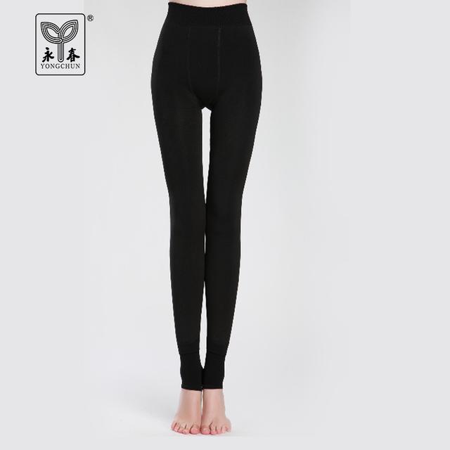 Meias meias uma peça calças legging espessamento fêmea além térmica de veludo uma calças pedaço passo 9817 meia-calça térmica