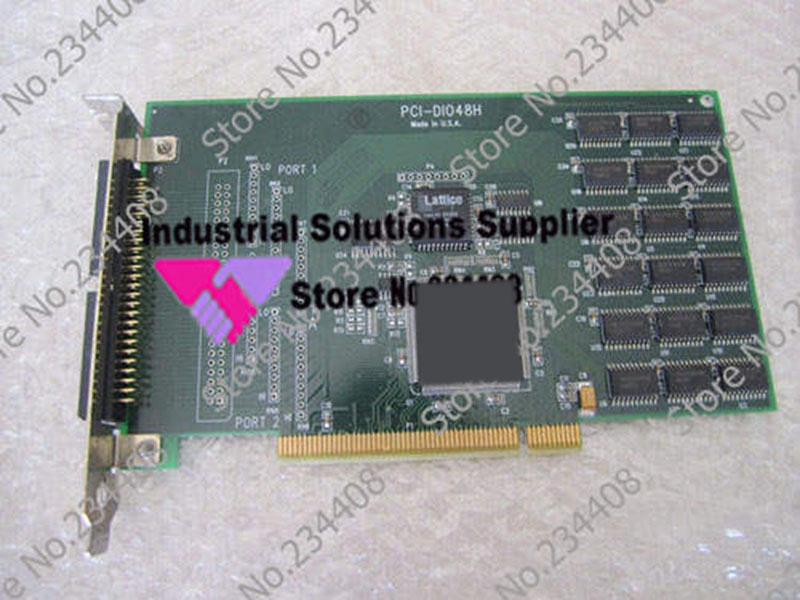 Industrial motherboard PCI-DIO48H card 100% Tested Good Quality sbc8252 long industrial motherboard cpu card p3 long tested good working perfec