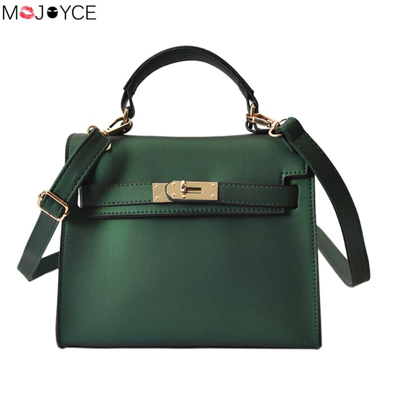 Famous Brand Pu Leather Small Women Crossbody Bag Luxury Handbags Women Bags bolsa Designer Female green Shoulder bag Tote sgarr fashion pu leather casual tote bag famous brands small women embroidery handbag shoulder bags luxury female crossbody bag