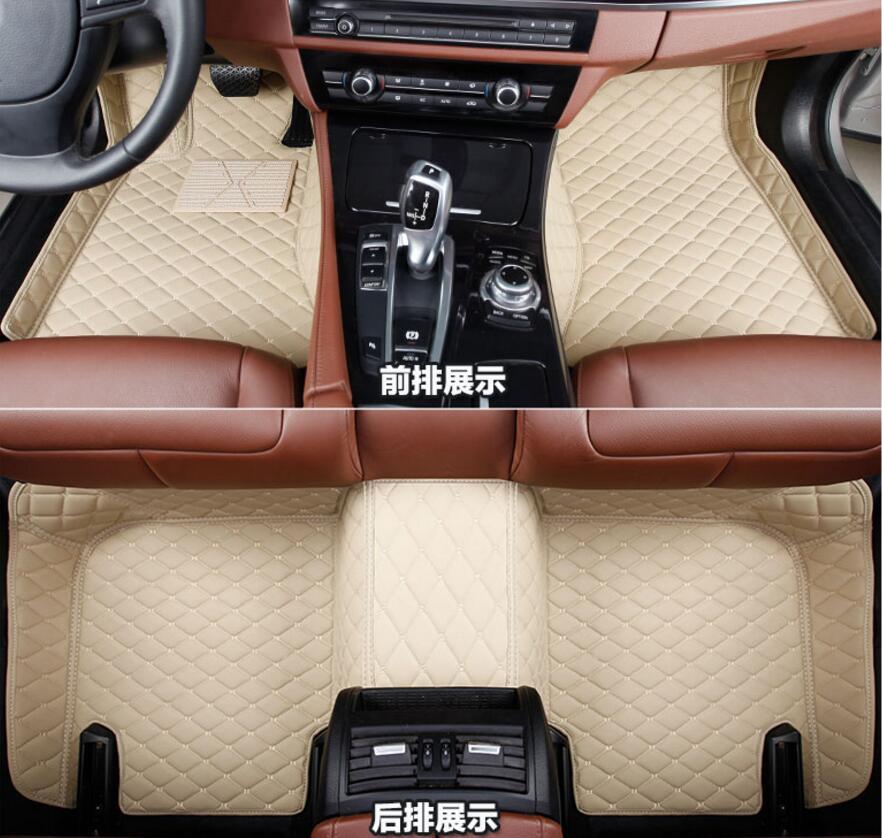 La derecha y la izquierda delantera alfombra alfombras almohadilla cubierta para Toyota Highlander SUV 2012, 2013, 2014, 2015 2016, 2017