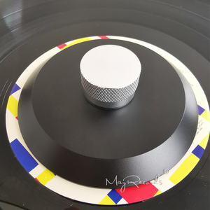 Image 5 - POM Vinyl Record Clamp 76g LP Disc Stabilizer Record Weight Turntable Vinyl Clamp Vibration Damper