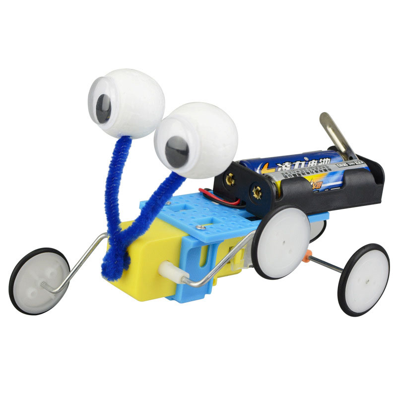 Diy Reptile Robot Technological Invention Creative Electric Toy Handmade Assemble Toys For Student