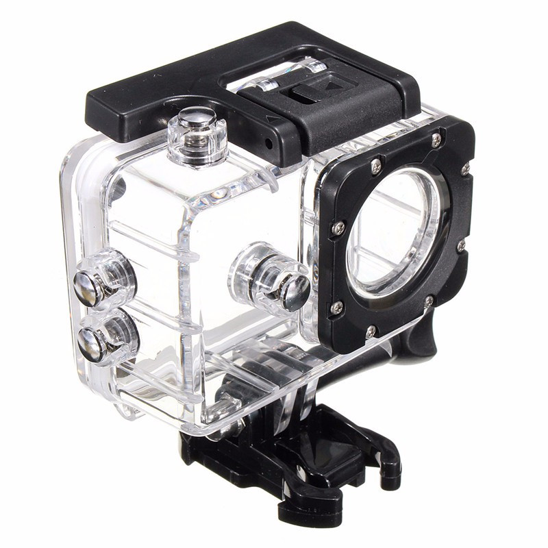 Transparent Plastic Waterproof Dive Housing Case Underwater Cover For SJ4000 Sports Camera Camera Accessories paw patrol домино щенячий патруль