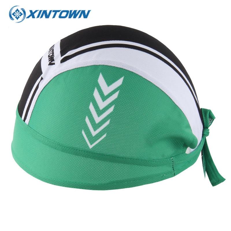 XINTOWN Gorra ciclismo Women Men Cycling Cap Bicycle Bandanas Bike Hat Polyester Headwear Riding Head Scarf Sports Headband