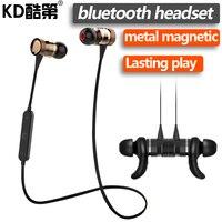 KD Bluetooth V4 1 Wireless Earphone In Ear With Microphone Earbuds Runner Sport Earphones Handfree Calls