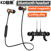 KD Brand Bluetooth Earphone Wireless Sport Running Headset With Mic for iphone xiaomi samsung Android