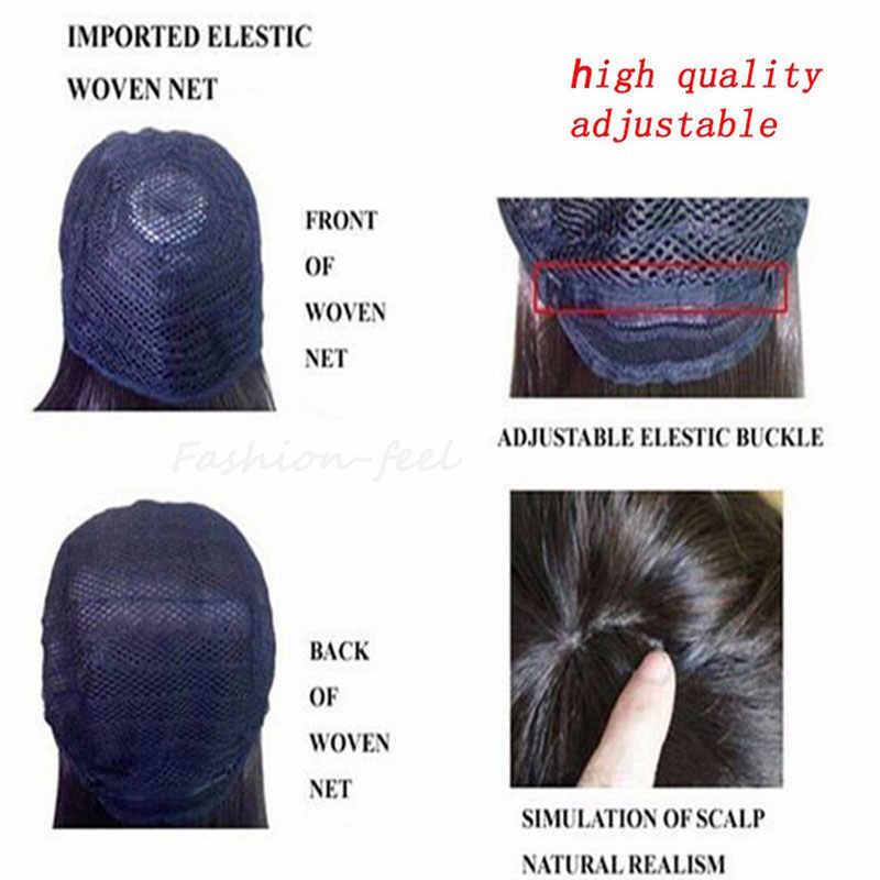 S-noilite 56 см свободные волны синтетические парики для черных женщин парик для косплея синий красный розовый серый фиолетовый волос