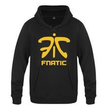 Heren Hoodie Games Fnatic Team Logo Hoodies Mannen Fleece Lange Mouw Skate Sweatshirt Hip Hop Trui Moleton Masculino Merk Hot