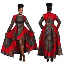 hot deal buy dashiki african dresses for women 2019 cotton ankara dresses batik african print dresses bazin riche fashion ladies clothes