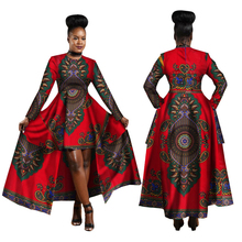 Dashiki African Dresses for Women 2018 Cotton Ankara Dresses Batik African Print Dresses Bazin Riche Fashion Ladies Clothes