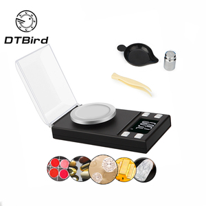 High Precision 0.001g 50g 100g Electronic Jewelry Lab Scales Diamond Gold Germ Medicinal Pocket Digital Milligram Scale Balance(China)