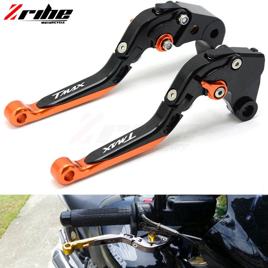 Motorcycle CNC Foldable&Extendable Brake Clutch Levers For yamaha T-MAX tmax 530 T-MAX530 tmax530 2008-2016 2009 2010 2011 2012