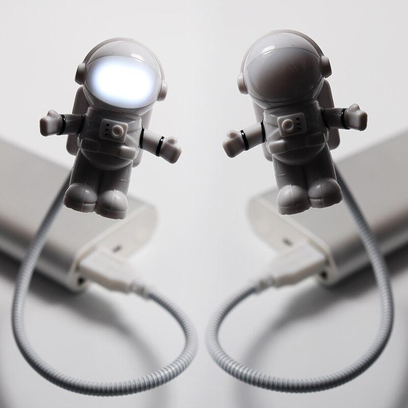Schreibtischlampen GüNstiger Verkauf Kreative Flexible Led Schreibtisch Lampe Flexible Usb Auge Schutz Tastatur Lesen Licht Nacht Lampe Astronaut Home Wohnzimmer Decor Diversifiziert In Der Verpackung Lampen & Schirme