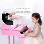 Onshine per bambini di simulazione pianoforte 30 chiave di alta qualità strumento di legno con spettro di pianoforte per bambini giocattoli educativi di apprendimento 3Y + - 2