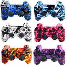 Bluetooth Gamepad SIXAXIS Controller Joystick For PS3 Controller Vibration For PlayStation 3 GTA5  Pro Evolution Soccer цена