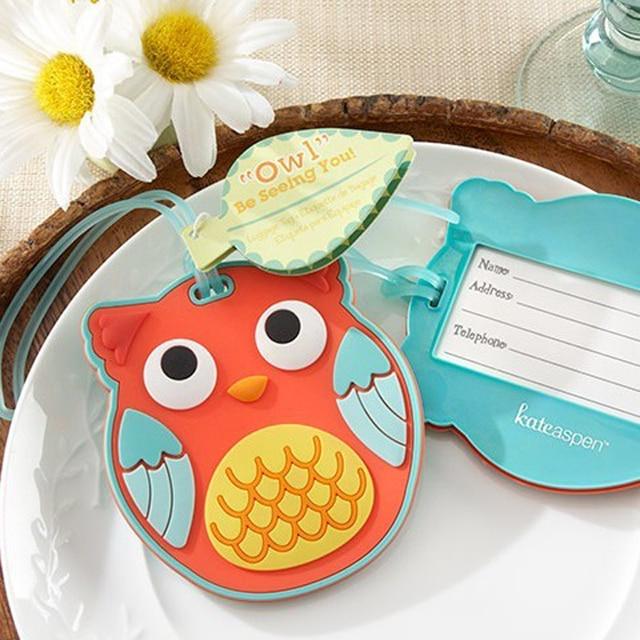 wholesale 100pcs wedding party supplies bridal shower favors guest gifts souvenirs keepsake baby shower favor owl