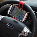 Universal del volante del coche del clip del sostenedor del montaje para el iphone samsung teléfono móvil gps