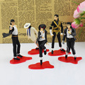 Classic 5 Pose 11 cm Michael Jackson Figura de Acción Juguetes de PVC Modelo Juguetes Colectiva