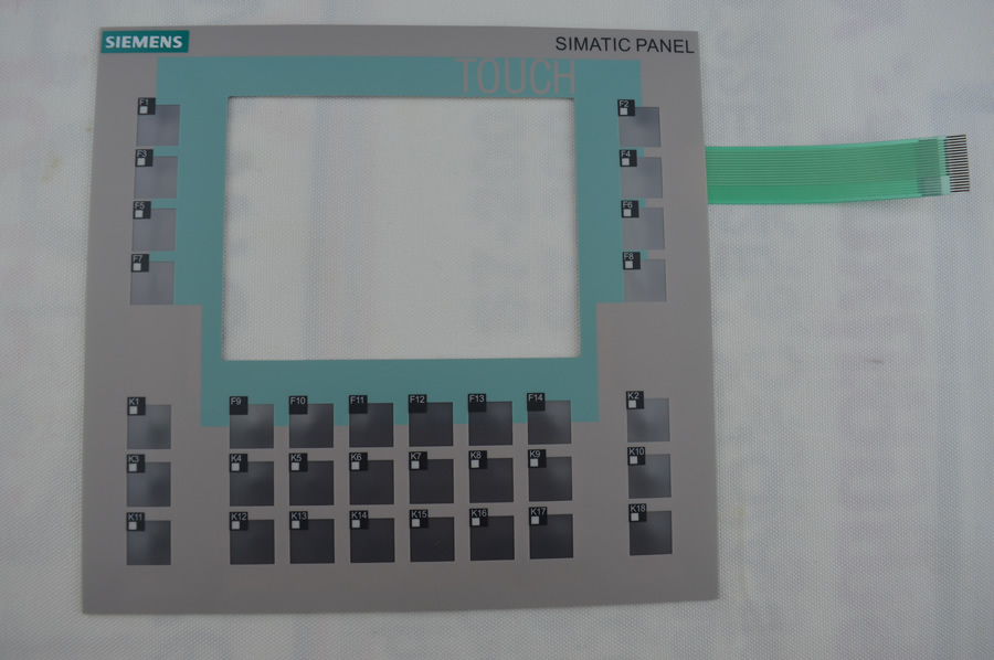 New Membrane switch 6AV6 642-0DC01-1AX1 for SlEMENS OP177B HMI KEYPAD, Membrane switch , simatic HMI keypad , IN STOCK a86l 0001 0288 1pc membrane keypad new fast ship in stock 6 button or 12 button