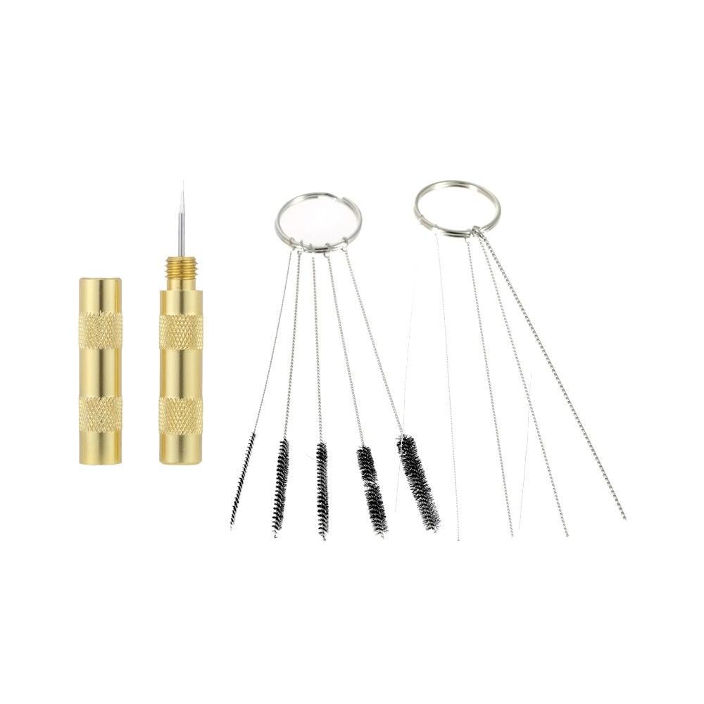 3 Set Professional Airbrush Cleaning Needle Air brushes Needle Brush Set Spray Gun Tools power tool Accessories Repair Tool Kit