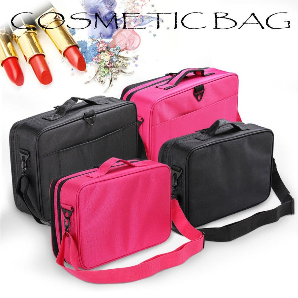 Women Vertical Large Capacity Handbag Portable Durable Environment-friendly No Impurity Jewelry Storage Cosmetic Organizer NEW цены