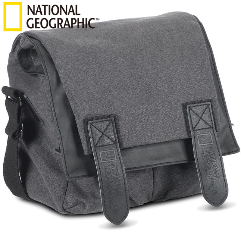 Professional National Geographic NG W2141 DSLR Camera Bag Universal for Nikon SLR for canon SLR national geographic leather travel camera bag soft photography bag shoulder messenger bag for canon nikon digital slr laptop