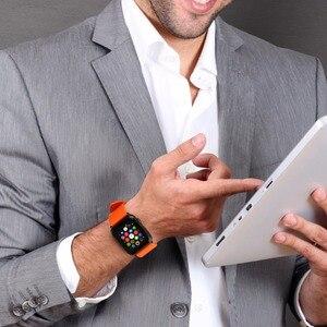 Image 3 - Voor Apple Horloge Band 44Mm 40Mm 42Mm 38Mm, fluor Rubber Apple Horloge Band Voor Apple Horloge Alle Modellen Iwatch Sport Horlogebanden