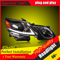 Auto Clud Car Styling For Lexus GS350 headlights 06 12 For GS350 head lamp led DRL front light Bi Xenon Lens Double Beam HID KIT