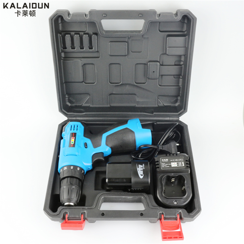 KALAIDUN 21V Electric Drill Mobile Power font b Tools b font Electric Screwdrive Lithium Battery Cordless