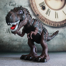 Electronic Jurassic Tyrannosaurus Rex Can Walk Large Plastic Dinosaurs Can Screaming Dinosaur Toys Electronic Dinosaurs Jurassic