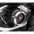 Accesorios de la motocicleta Contraste Cut Turbina Filtro Aire Para Harley Sportster XL883 XL1200 1991-2013 2014 2015 2016