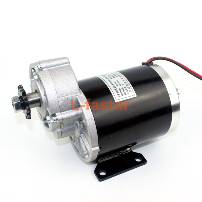 Pd750 Electric Motor Kit: 36V48V 600W Electric Bike Brush Motor Electric Tricycle DC